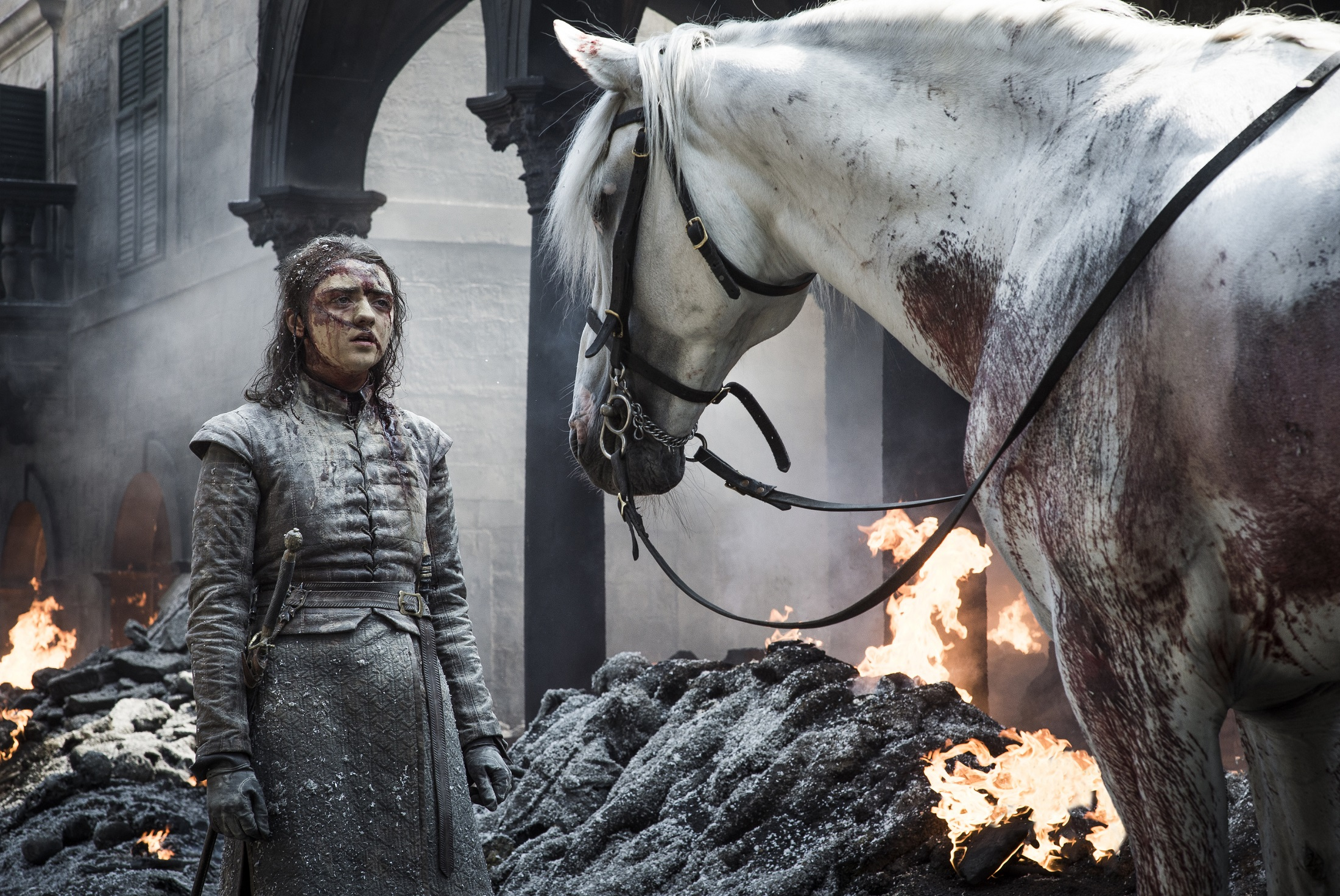 Arya Stark horse The BElls