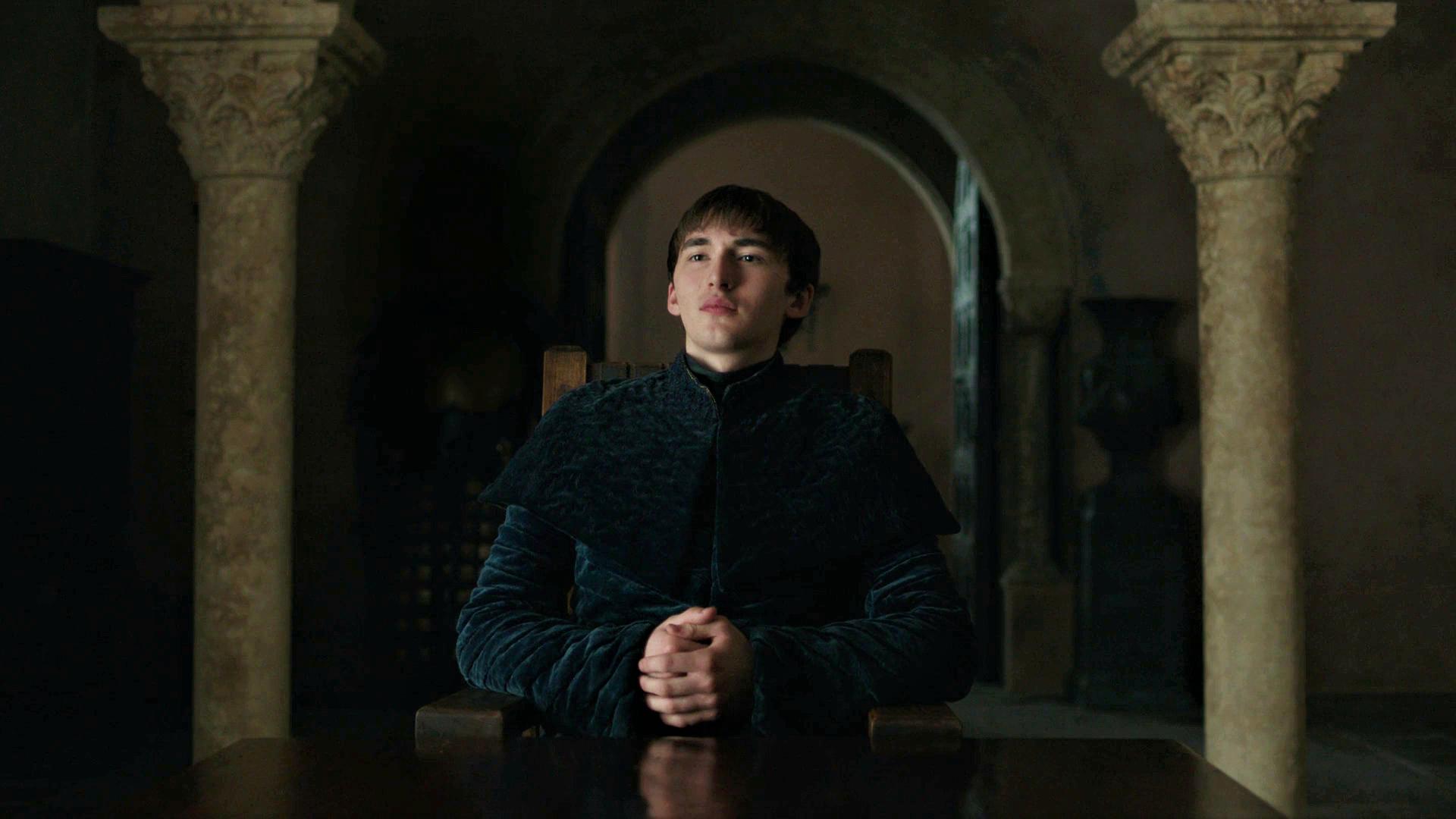 Bran Stark King Red Keep King's Landing Season 8 806 Iron Throne