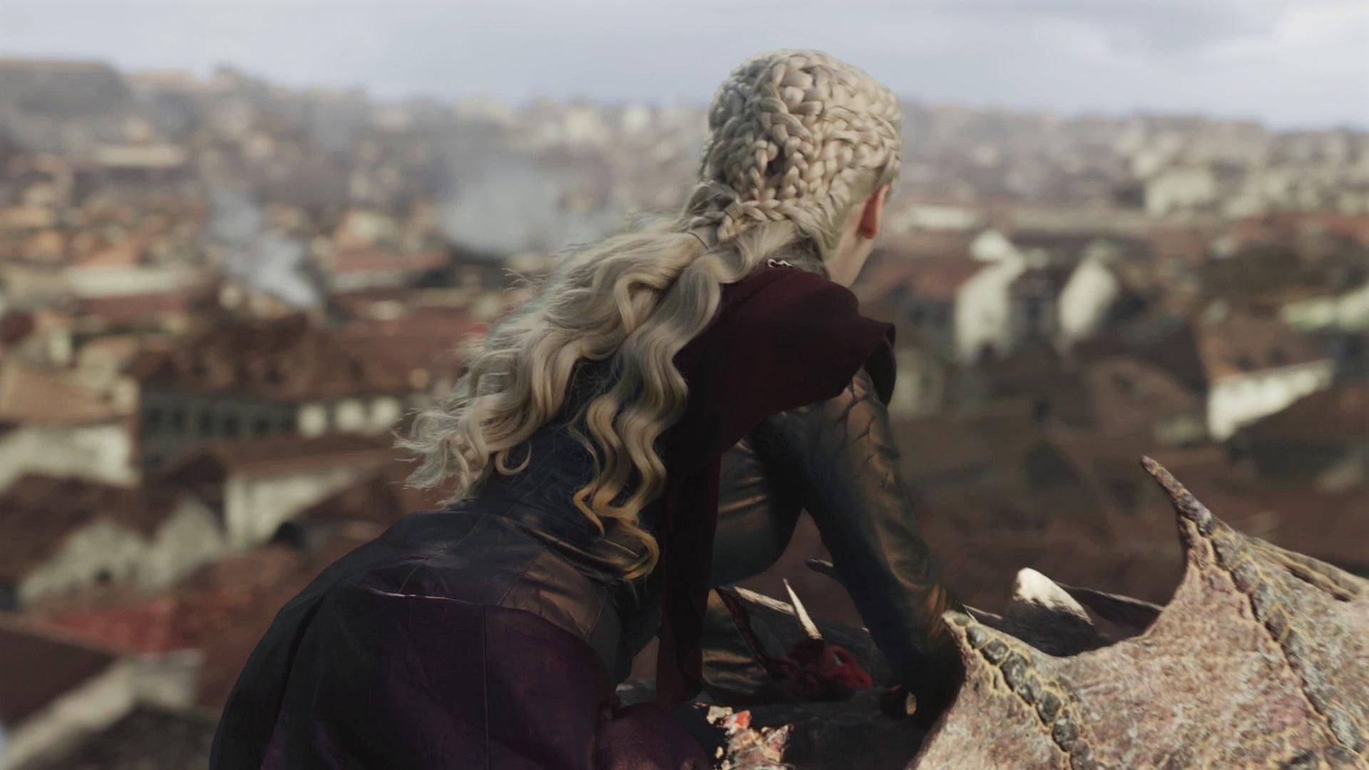 Daenerys Dress Season 8 805 King's Landing Bells