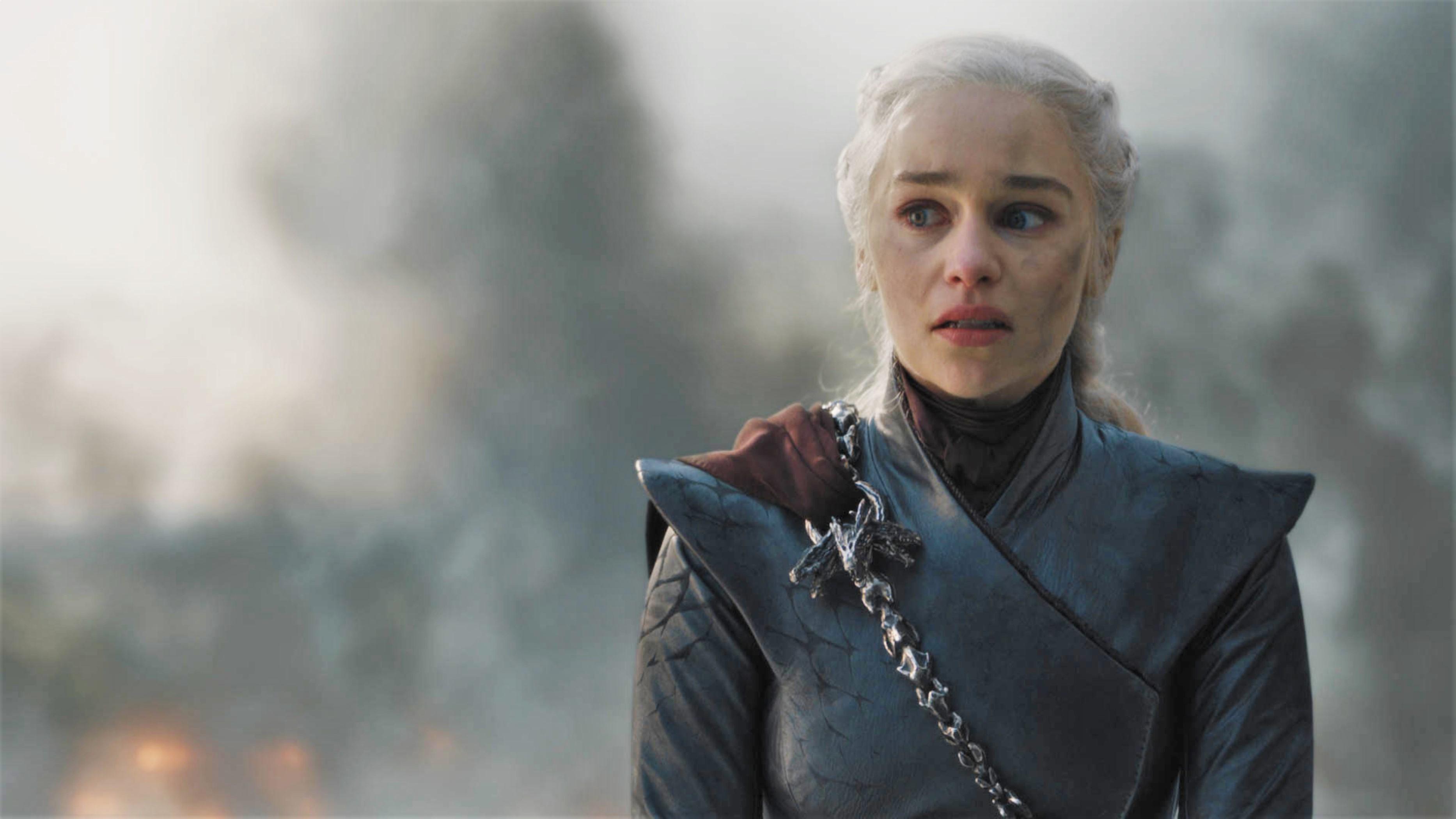 Daenerys Targaryen King's Landing Season 8 806 The Bells