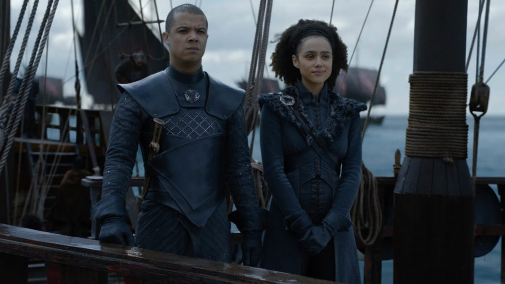 Grey Worm Missandei Season 8 804