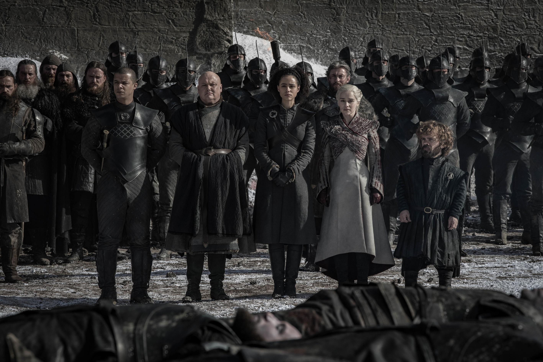 Grey Worm Varys Missandei Daenerys Tyrion Season 8 804