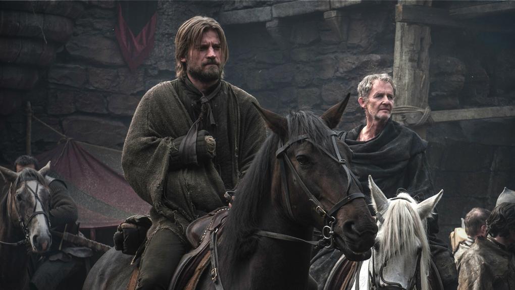 Jaime and Qyburn