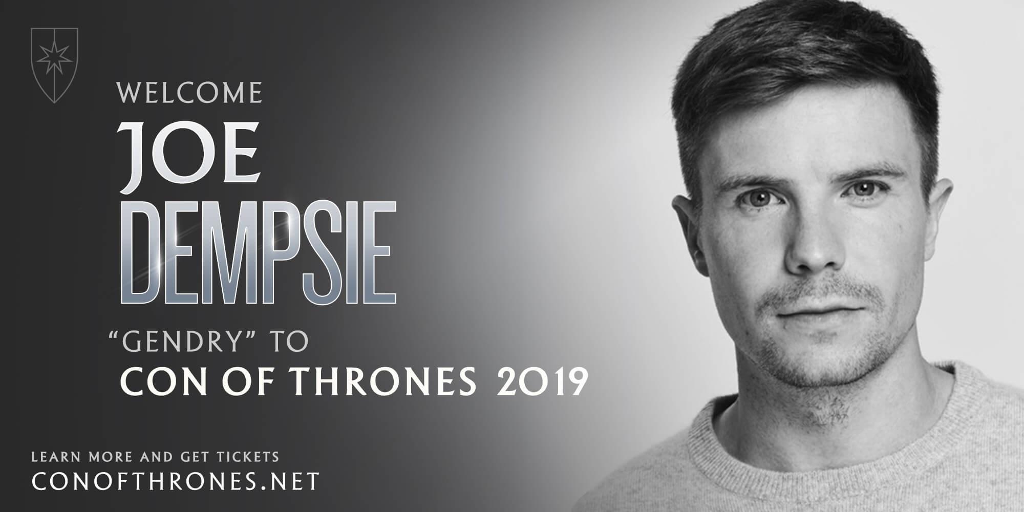 Joe Dempsie Con of Thrones 2019