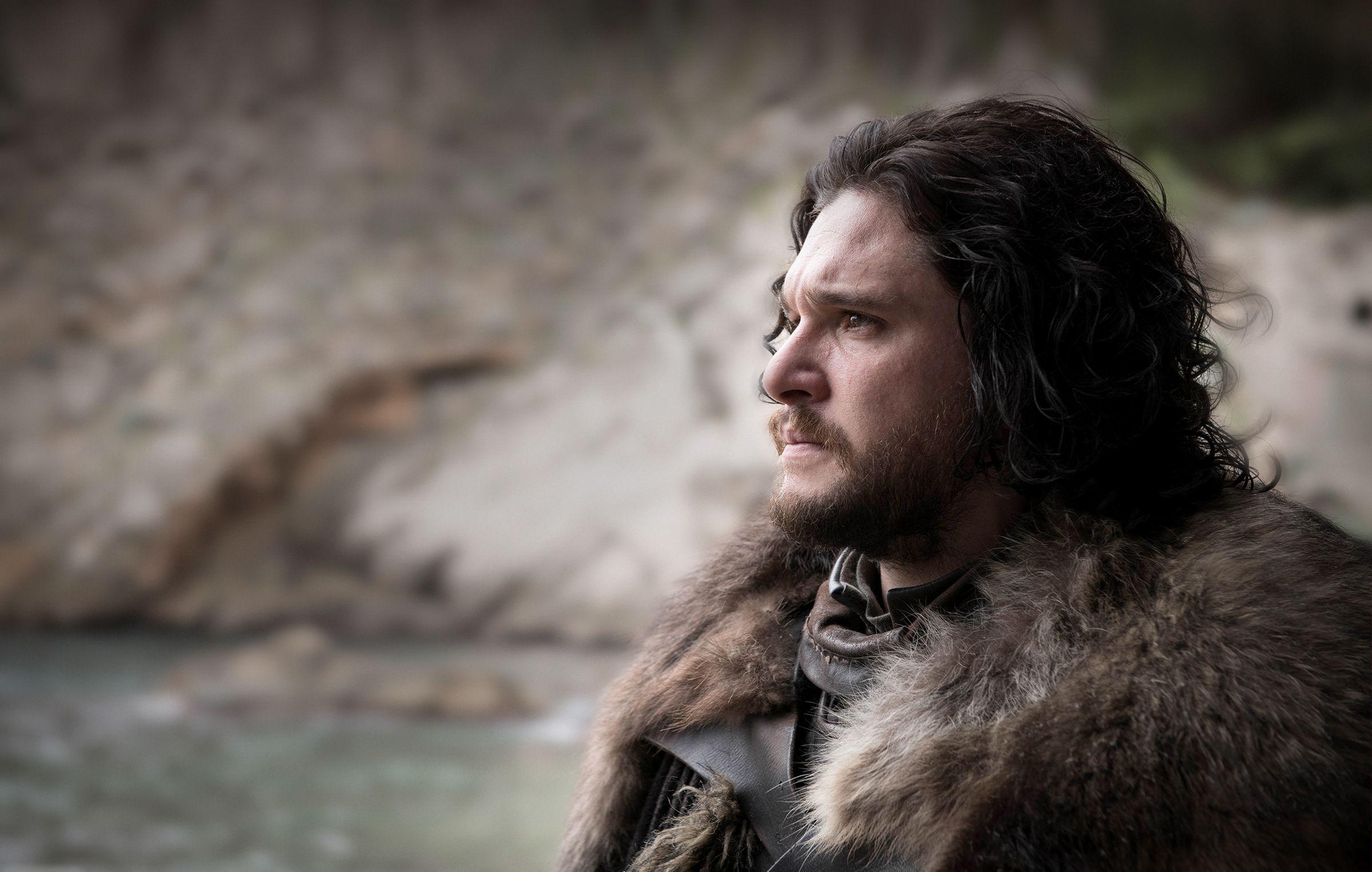 Jon Snow The Iron Throne