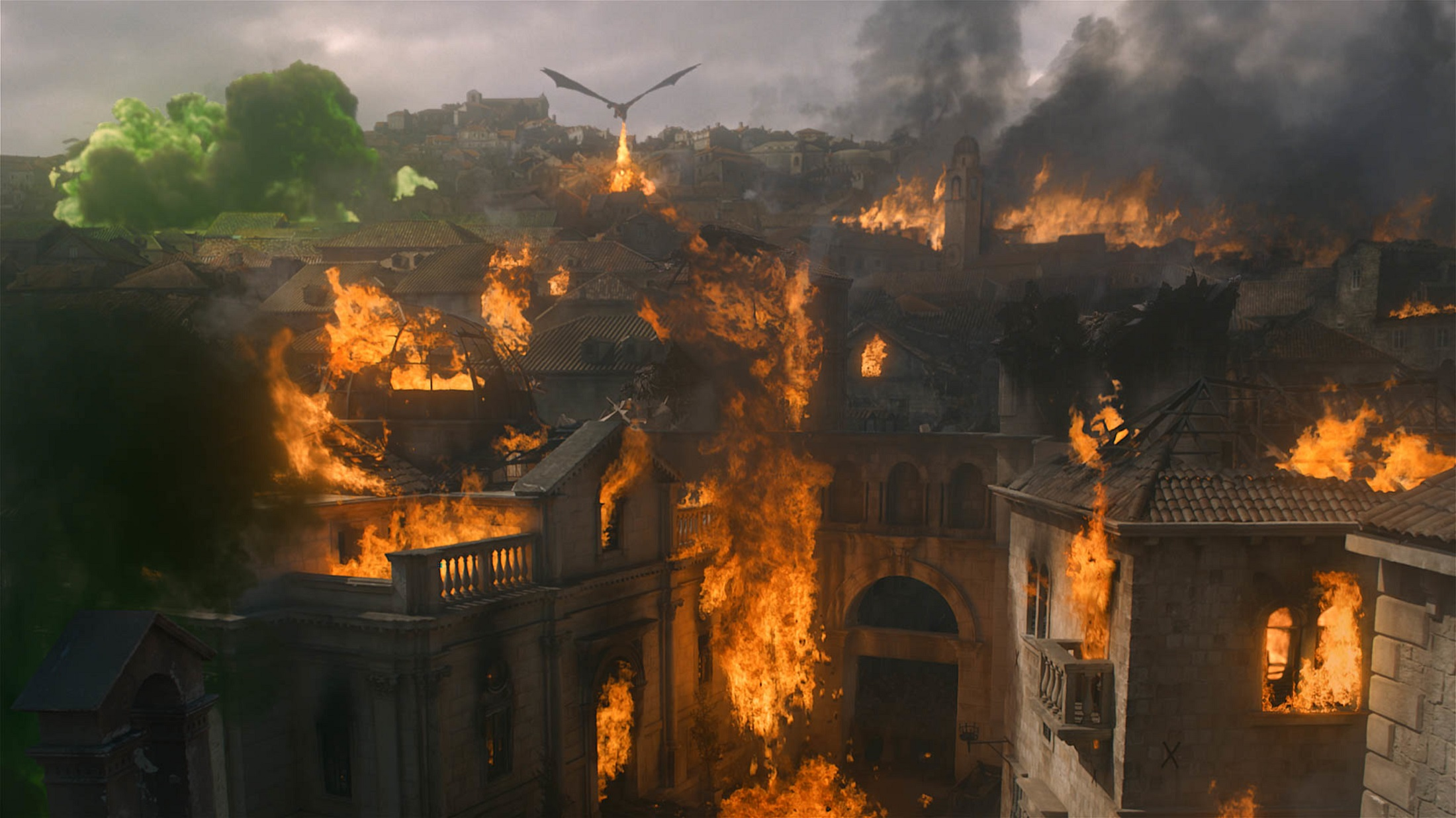 Kings Landing destruction The Bells