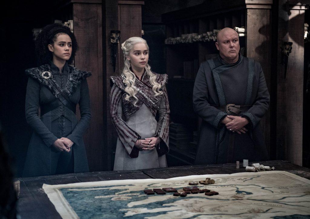 Missandei Daenerys Varys Season 8 804