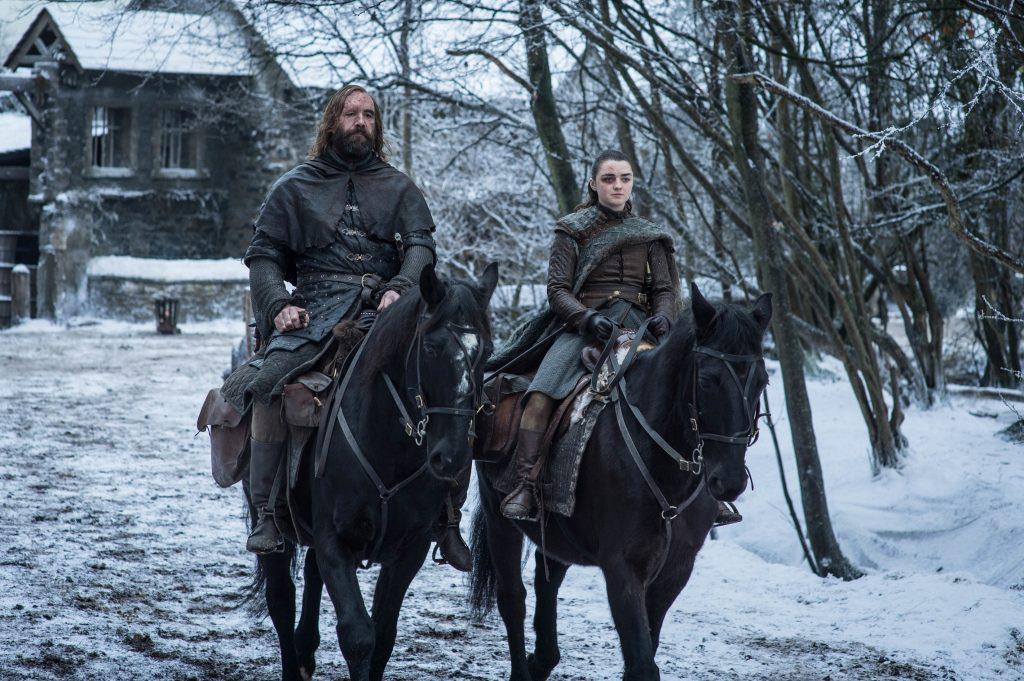 Sandor Hound Clegane Arya Stark Season 8 804