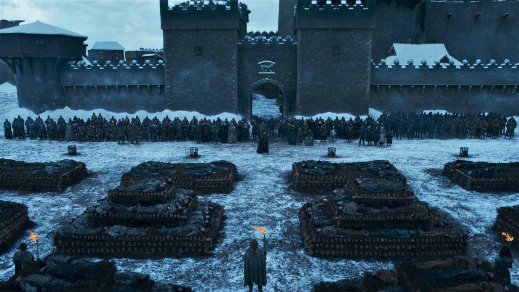 Winterfel Pyre Funeral Season 8 804 2