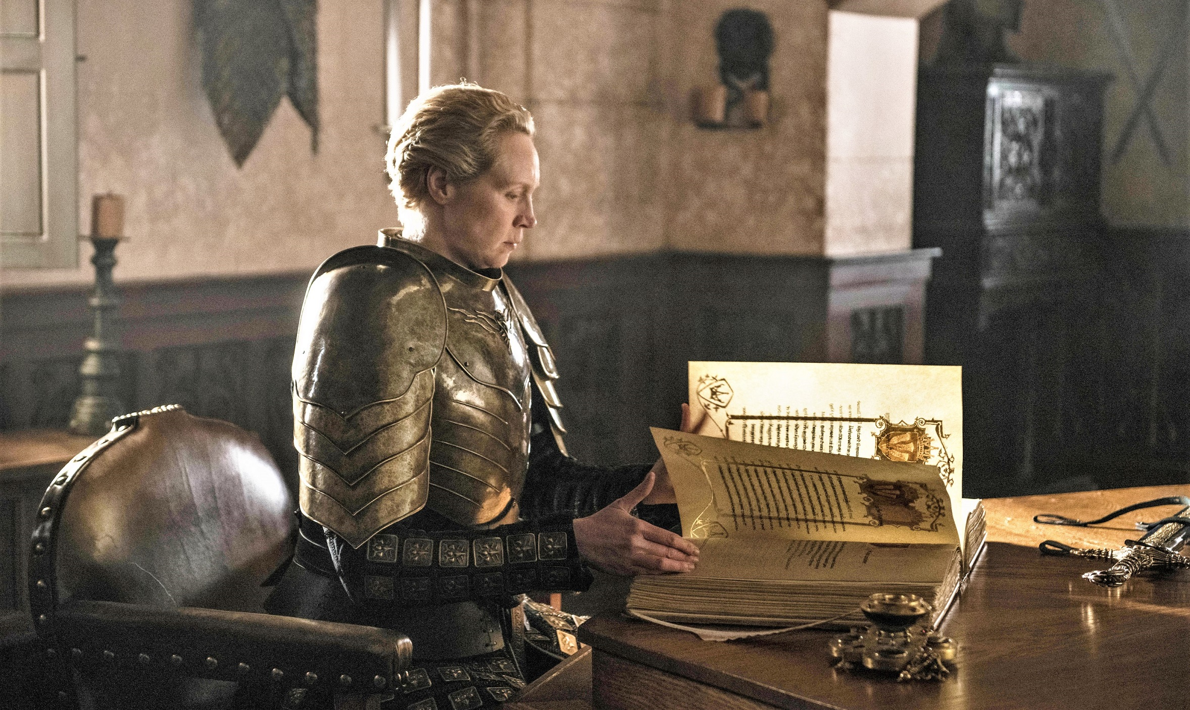 Brienne of Tarth Season 8 806 Kingsguard White Book of Brothers