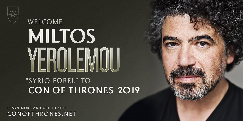 Con of Thrones Miltos 2019