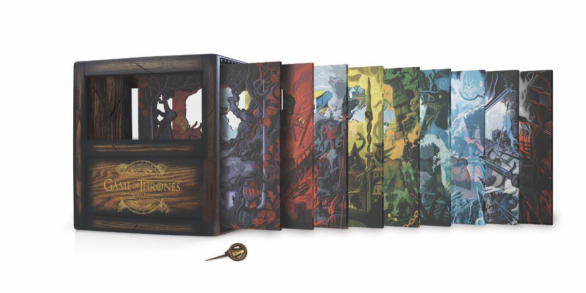 Collection complète de Game of Thrones