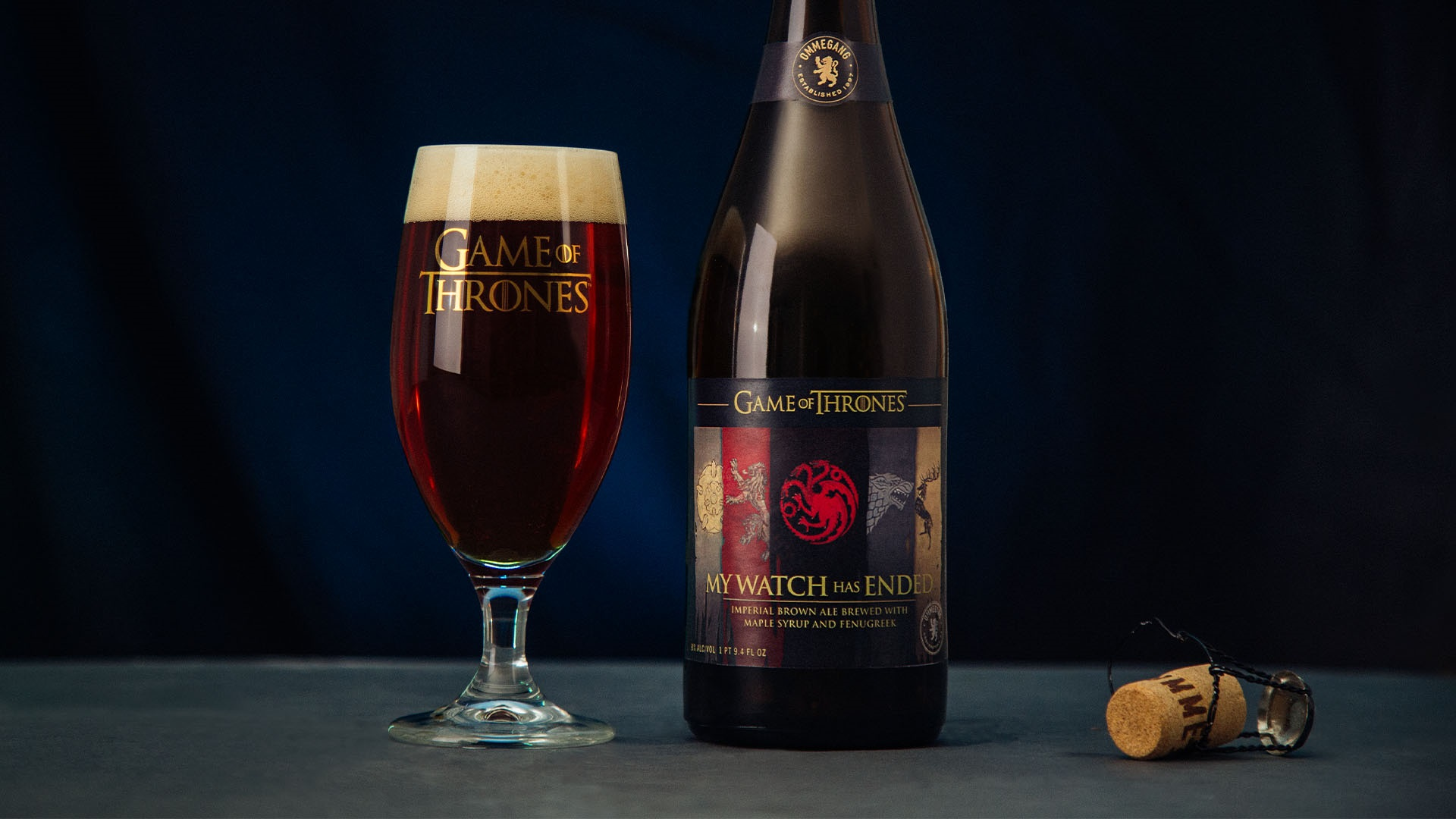 My Watch Has Ended Ommegang Beer