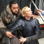 Gwendoline Christie and Kit Harington