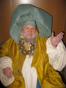 George R.R. Martin Game of Thrones Pilot Cameo Costume